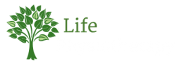 Life Physiotherapy logo with green and white text